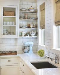 kitchen backsplash with white cabinets and white countertops 20 gorgeous gray and white kitchens maison de pax