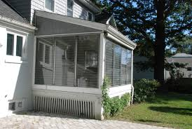 vinyl screened porch systems