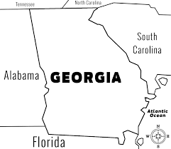 Map Of Tennessee And Georgia by Georgia Ga State Information