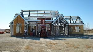Frame House Light Steel Framing Google Search Steel Frame Pinterest