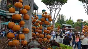 Fall Tree Decorations Behind The Thrills New Pumpkin Decorations Add Fall Spice To