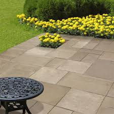 Cement Patio Stones Concrete Landscaping Block By Midwest Manufacturing