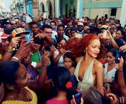 topless pictures of rihanna rihanna in cuba the cover story vanity fair