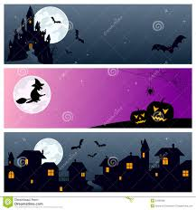 halloween banners royalty free stock image image 15719746