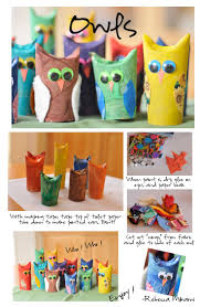 Halloween Paper Towel Roll Crafts 116 Best Toilet U0026 Paper Towel Roll Crafts Images On Pinterest