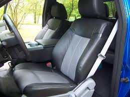 Ford F150 Truck Seats - installed katzkin leather w bun warmers in my u002711 xlt whatcha
