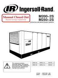 ir m200 m250 2s gb gas compressor valve