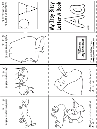 letter book templates kindergarten reading pinterest