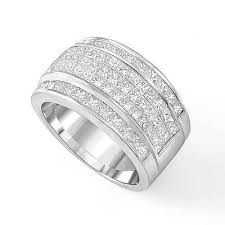 18ct white gold wedding ring mens 18ct white gold 12mm diamond wedding ring 1327 newburysonline