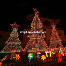 large christmas tree lights outdoor christmas lights decoration