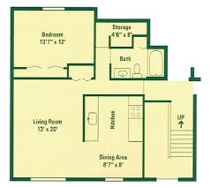 Security Floor Plan 1 2 3 Bedroom Apartments For Rent In Scottsville Ny Clearview