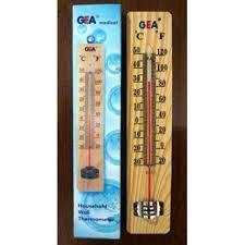 Termometer Murah jual termometer ruang kayu air raksa murah grosir oleh