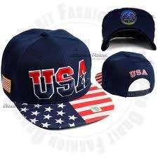 American Flag Snapback Hat Usa American Flag Baseball Cap Snapback Hat Flat Adjustable