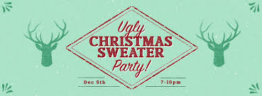 ugly christmas sweater party idle tuesdays recording studio a