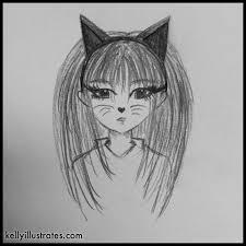 Drawings Of Halloween Anime Kelly Illustrates