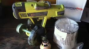 fixing and replacement parts on the discontinued ryobi p630 paint