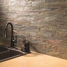 Stone Backsplash Kitchen by Best 25 Stick On Tiles Ideas Only On Pinterest Kitchen Walls
