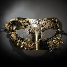 steunk masquerade mask steunk gear masquerade mask gold m39028 beyondmasquerade