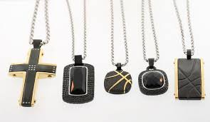 stainless steel necklace pendants images Wholesale lot of 5 shaquille o 39 neal mixed stainless steel pendant jpg