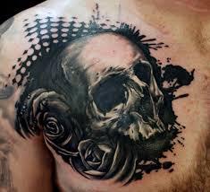 better tattoos vintage frame victorian skull rose tattoo studio