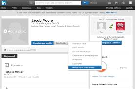 create a business profile on linkedin promote your linkedin public profile web browser social networking