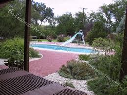 backyard swimming pool walkway