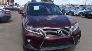 lexus rx red interior 2015 lexus rx 350 awd sportdesign edition review red claret mica