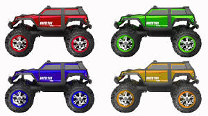 monster truck shows videos monster truck show learning colors educational video for kids