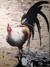 librarian tells all how to paint a chicken in only ten days