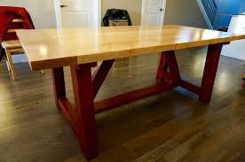 Custom Furniture  Cutting Board Master - Maple dining room tables