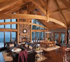Timber Frame Home Interiors Outstanding Timber Frame Home Top Timber Homes