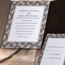Pocket Wedding Invitations Short And Sweet Pocket Wedding Invitations Ukps013 Ukps013