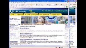 Naukrigulf Resume Services Jobs In Qatar Www Qatarvacancy Com Youtube