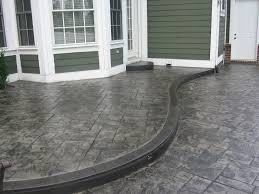 Backyard Concrete Patio Ideas by Best 20 Stamped Concrete Ideas On Pinterest U2014no Signup Required