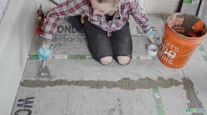 preparing bathroom floor for tile room design ideas