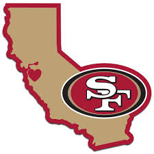 san francisco 49ers decal home state pride san francisco 49ers