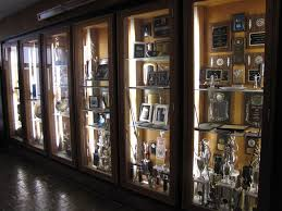trophy case outside of the gym athletics go bucs pinterest