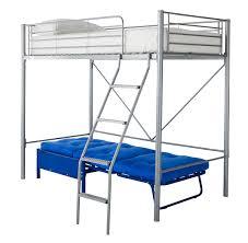 High Sleeper Bed With Futon Kidspace Montana High Sleeper Bed With Futon Single Ebay