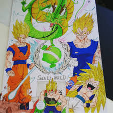 coloring with tolgart dragon ball z goku vs vegeta bardock ssj