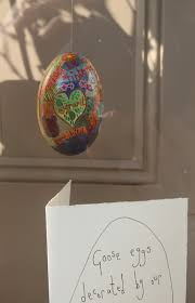decorated goose eggs the artist the decorated goose egg the shop chapel