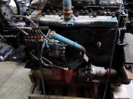 1988 international dt466 c stock 46343 engine assys tpi