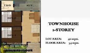 row house floor plan philippines house plans