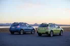subaru crosstrek lifted blue 2014 subaru xv crosstrek hybrid review automobile magazine