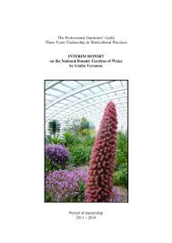 pgg interim report on the national botanic gardens of wales