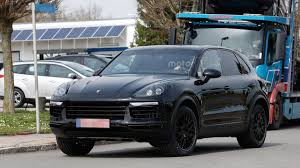 Porsche Macan Facelift - 2018 porsche cayenne spied in germany