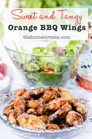 summer outdoor dining u0026 orange bbq wings recipe the home i create