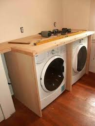 table top washer dryer crazy wonderful diy built in washer dryer laundry room project