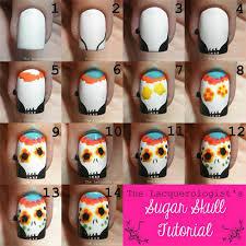 18 best u0026 easy halloween nails art tutorials for beginners