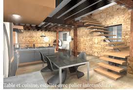 cuisine dans maison ancienne am nagement maison ancienne avec best cuisine moderne maison