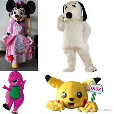 Pink Minnie Mouse Halloween Costume Cheap Mascot Pink Crown Minnie Mouse Mascots Costume Snoopydog